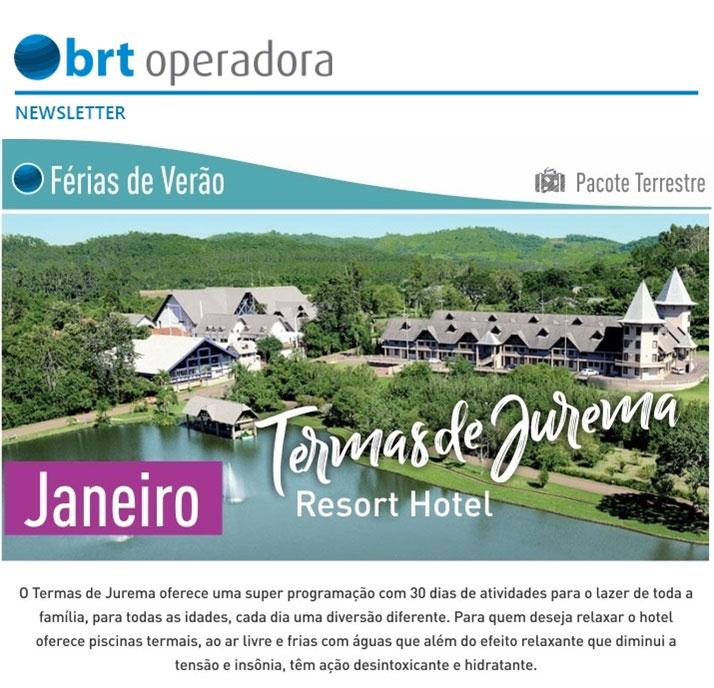 FÉRIAS DE VERÃO - JANEIRO   TERMAS DE JUREMA RESORT HOTEL
