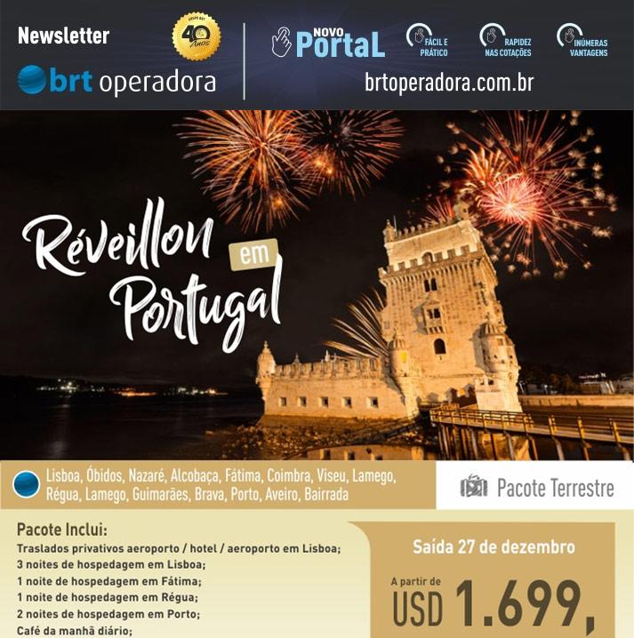RÉVEILLON EM PORTUGAL   |   BRT OPERADORA | www.grupobrt.com.br