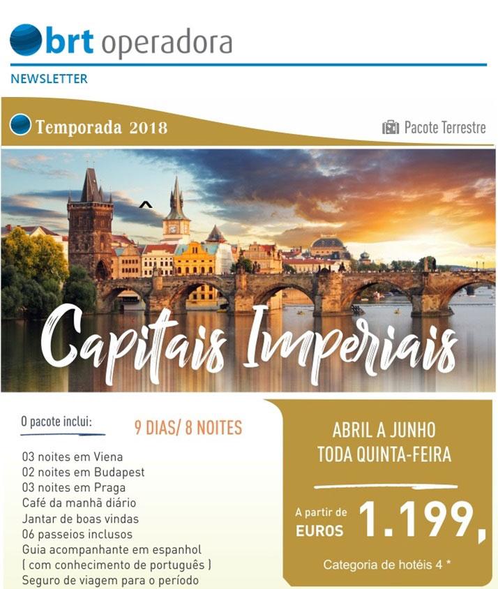 TEMPORADA 2018 - CAPITAIS IMPERIAIS | PACOTES TERRESTRES