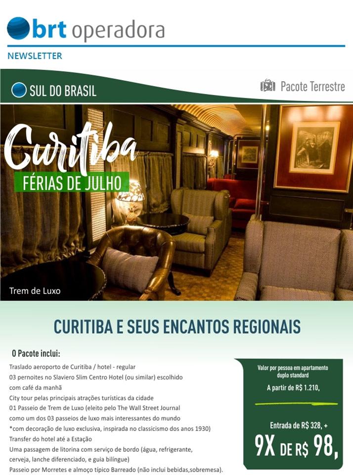 CURITIBA E SEUS ENCANTOS REGIONAIS  -  BRT OPERADORA   www.grupobrt.com.br