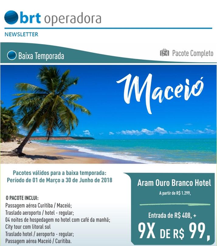 PACOTE COMPLETO - BAIXA TEMPORADA  |  MACEIÓ