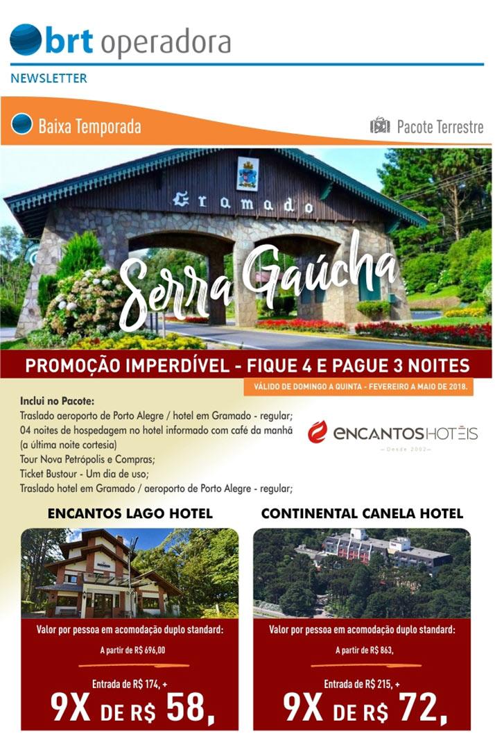 SERRA GAÚCHA - BAIXA TEMPORADA - PACOTE TERRESTRE | FIQUE 4 E PAGUE 3 NOITES  -  PROMOÇÃO IMPERDÍVEL