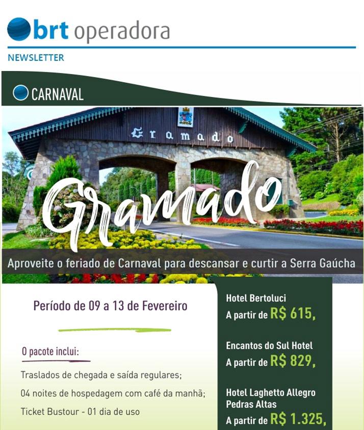 CARNAVAL | GRAMADO - Aproveite o feriado de Carnaval para descansar e curtir a Serra Gaúcha