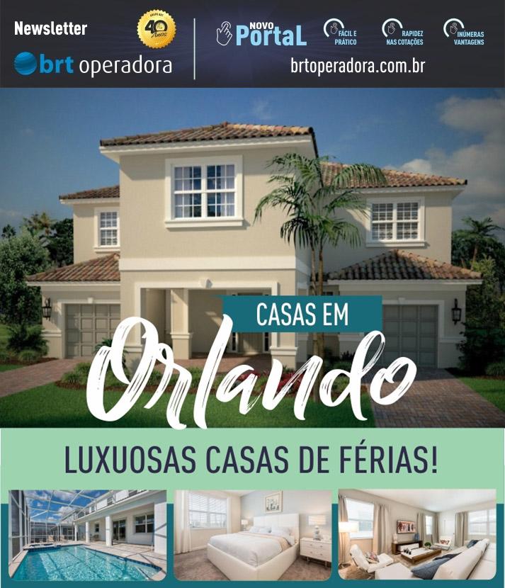 CASAS EM ORLANDO - LUXUOSAS CASAS DE FÉRIAS!   |   BRT OPERADORA | www.grupobrt.com.br