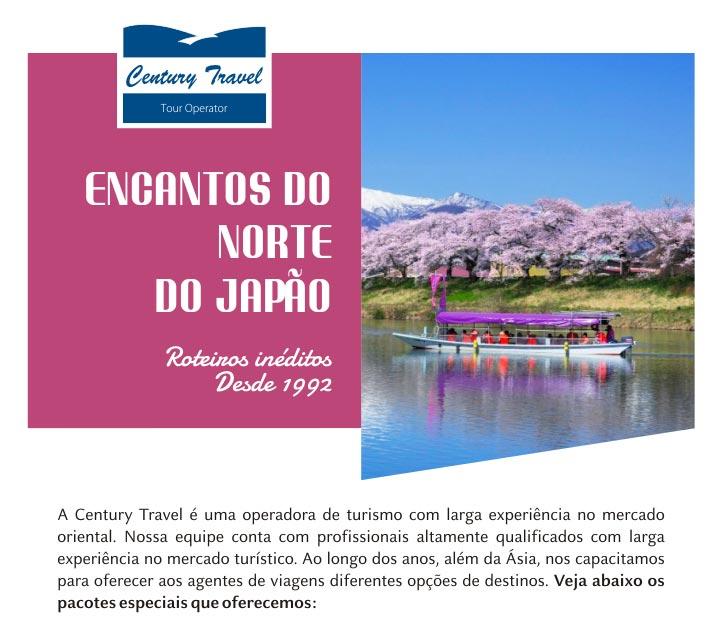 ENCANTOS DO NORTE DO JAPÃO - TOHOKU & HAKODATE - CENTURY TRAVEL   ROTEIROS INÉDITOS - DESDE 1992