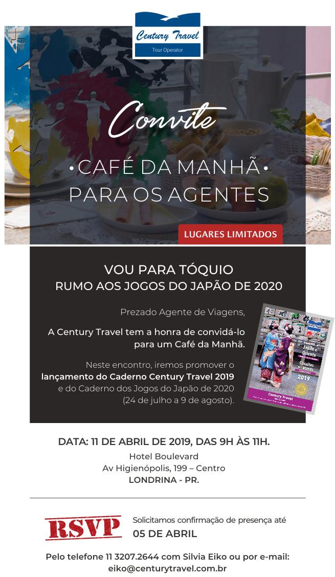 CONVITE - CONFIRMAÇÃO DE PRESENÇA - eiko@centurytravel.com.br