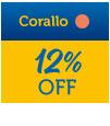 Corallo 12% OFF