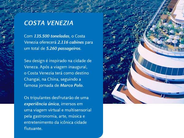 Costa Venezia: Informações