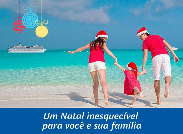 Um Natal inesquecível para você sua família
