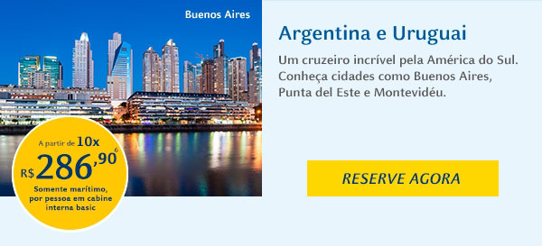 Costa Fascinosa - Argentina e Uruguai