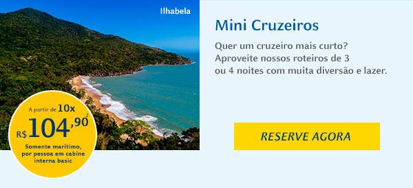 Costa Favolosa - Mini Cruzeiros