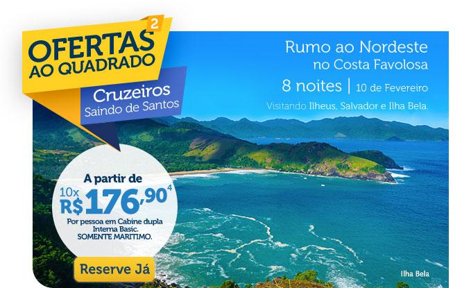 Rumo àArgentina e Uruguai no Costa Favolosa, 8 noites | 2 de Fevereiro