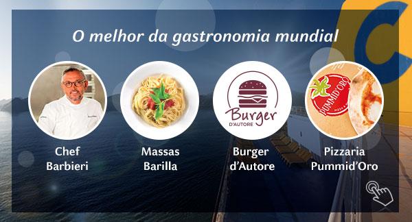 O melhor da gastronomia mundial!