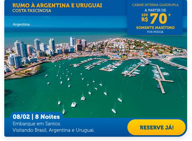 RUMO À ARGENTINA E URUGUAI
