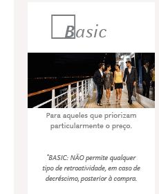 CABINE BASIC: Para aqueles que priorizam particularmente o preço.