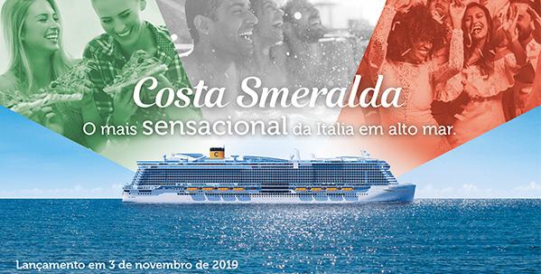 Costa Smeralda, O mais sensacional da Itália em alto mar.