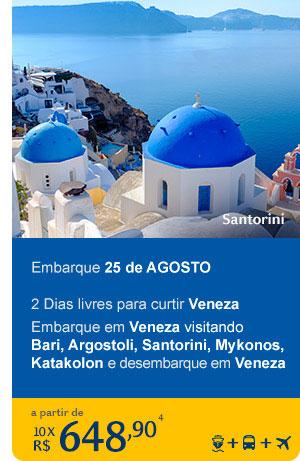 Costa Luminosa - Santorini