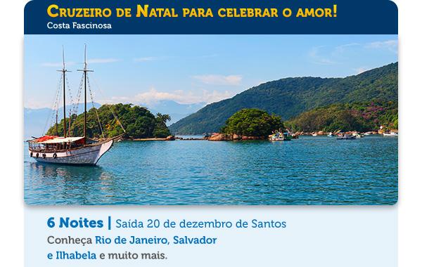 Cruzeiro de Natal para celebrar o amor!
