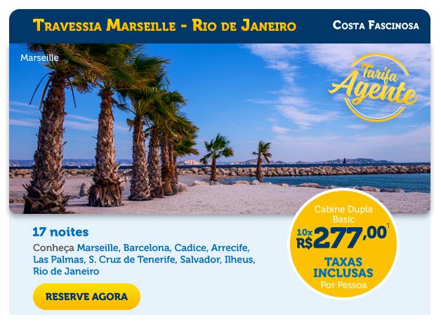 TRAVESSIA MARSEILLE - RIO DE JANEIRO