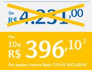 Por 10X R$396,10
