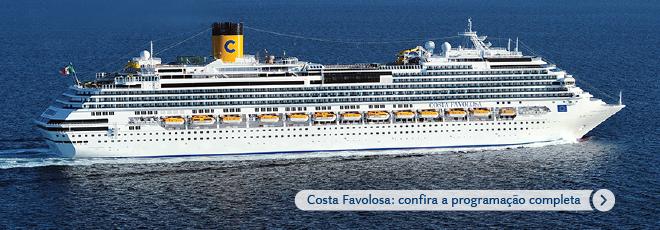 Costa Favolosa: confira a programação completa