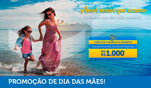 AMOR MAIOR QUE OCEANO - AS FÉRIAS QUE SUA MÃE MERECE!