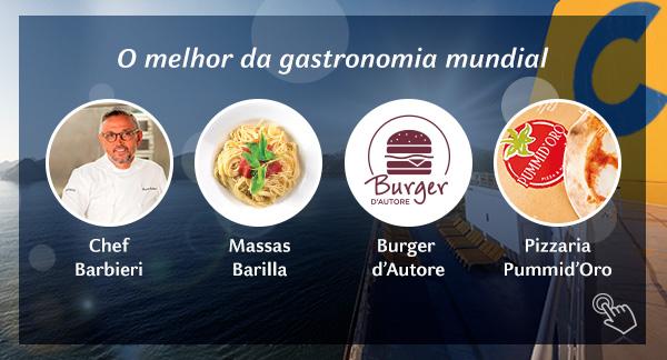O melhor da gastronomia mundial