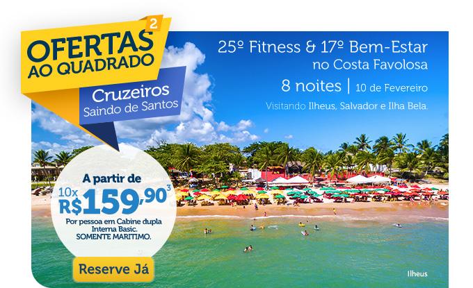 25 & 17 BEM-ESTAR NO COSTA FAVOLOSA, 8 NOITES | 10 DE FEVEREIRO