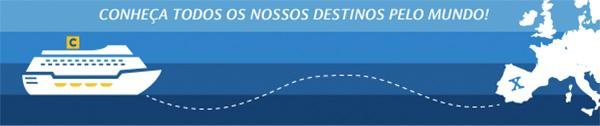 CONHEÇA TODOS OS NOSSOS DESTINOS PELO MUNDO!