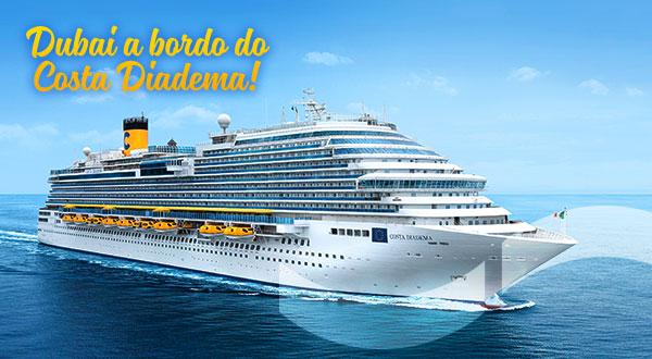Dubai a bordo do Costa Diadema!