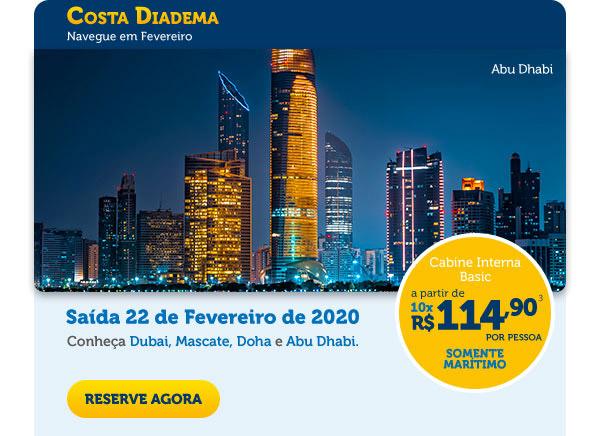 Costa Diadema - Navegue em Fevereiro