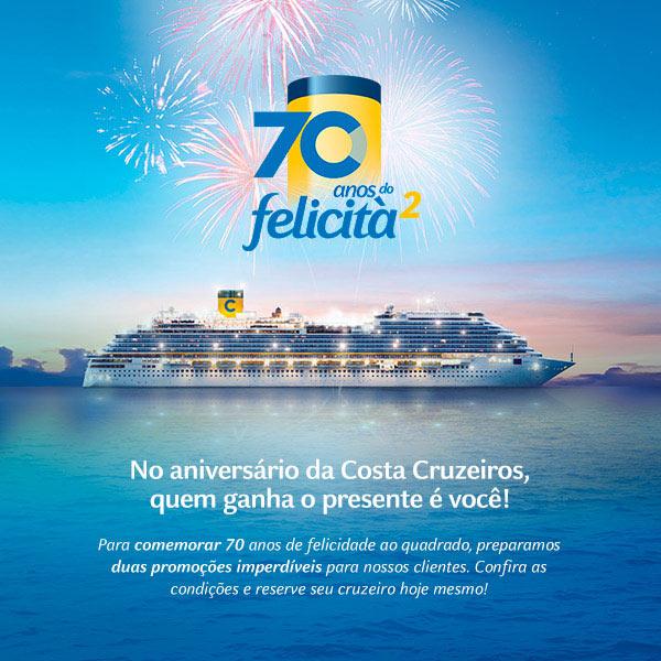 Aniversário da Costa Cruzeiros