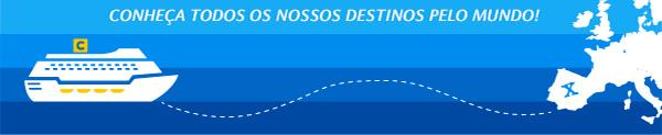 CONHEÇA TODOS OS NOSSO DESTINOS PELO MUNDO!
