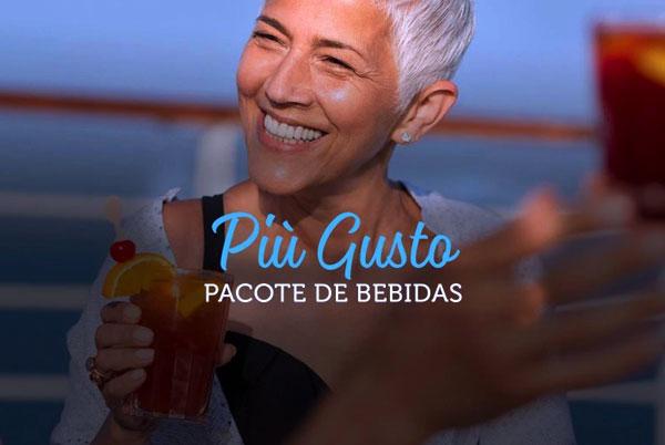 Púì Gusto - Pacote de bebidas