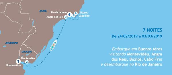 Embarque em Buenos Aires