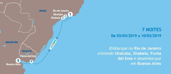 Embarque no Rio de Janeiro