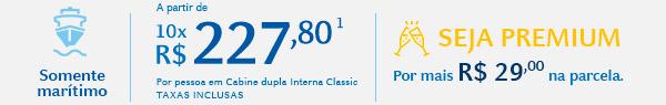 A partir de 10x R$227,80