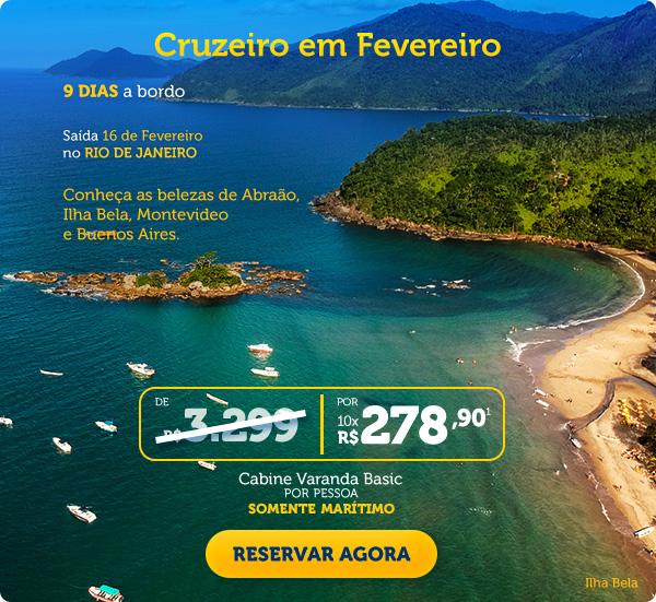 CRUZEIRO EM FEVEREIRO