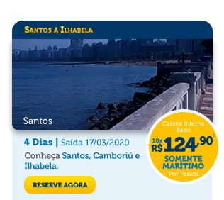 SANTOS À ILHABELA - SANTOS