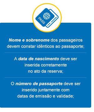 Dados Passaporte