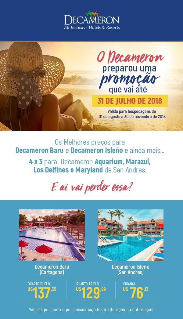 DECAMERON ALL INCLUSIVE HOTELS & RESORTS  -  SOLICITE SEU ORÇAMENTO
