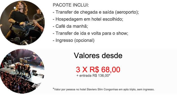 FOO FIGHTERS E QUEENS OF THE STONE AGES voltarão a fazer show no Brasil  -  GTF BRASIL     www.gtfbrasil.com.br