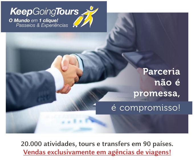 PARCERIA NÃO É PROMESSA É COMPROMISSO !   KEEP GOING TOURS
