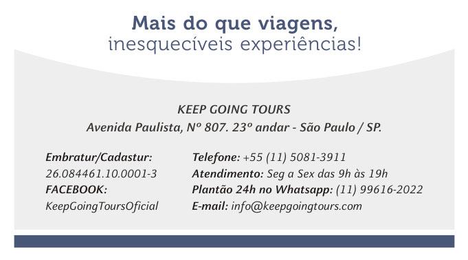 KEEP GOING TOURS - FALE CONOSCO