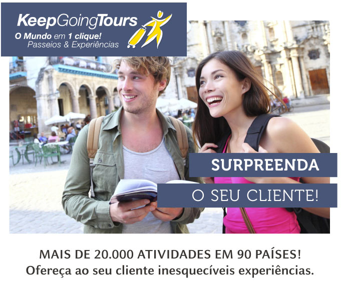 KEEP GOING TOURS - SURPREENDA O SEU CLIENTE!   www.keepgoingtours.com