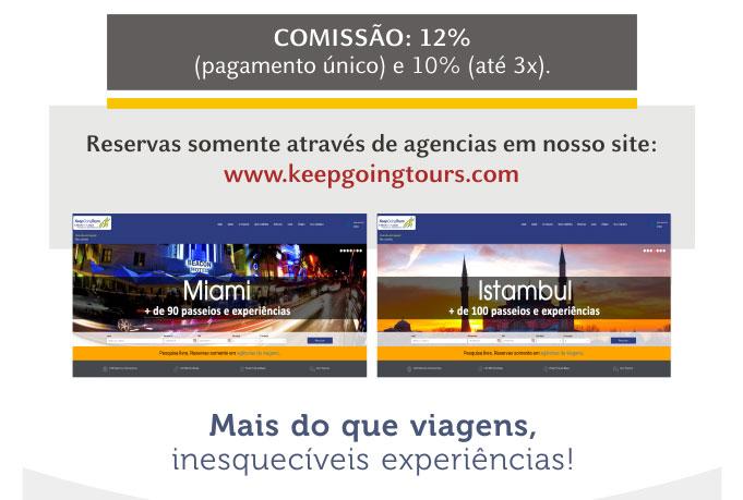 KEEP GOING TOURS - Acesse nosso site:  www.keepgoingtours.com
