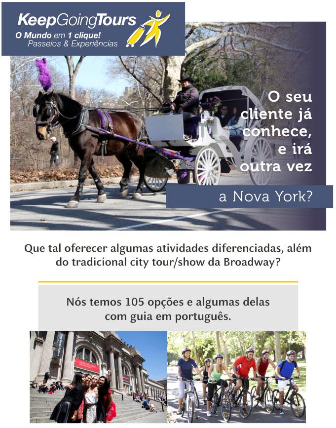 O SEU CLIENTE JÁ CONHECE, E IRÁ OUTRA VEZ A NOVA YORK?  |  KEEP GOING TOURS  -  www.keepgoingtours.com