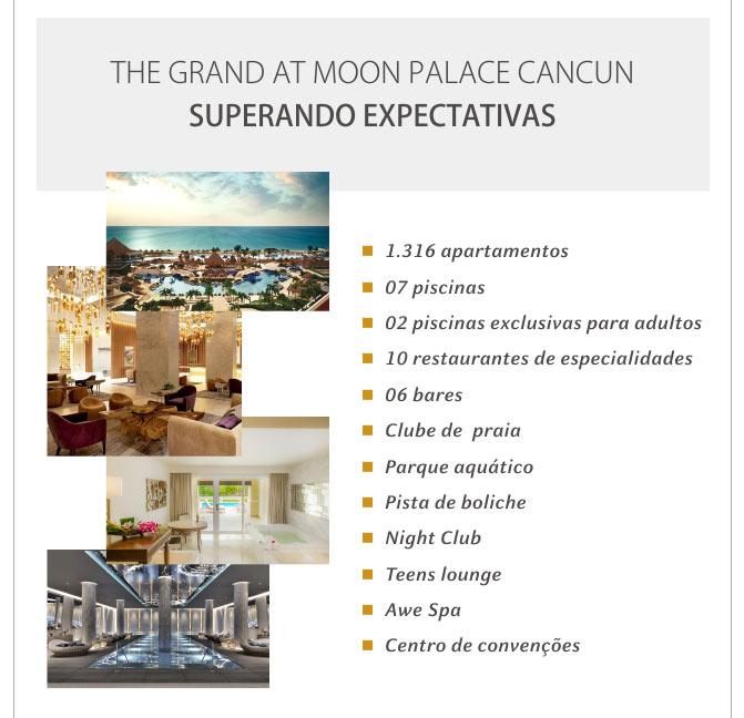 THE GRAND AT MOON PALACE CANCUN - SUPERANDO EXPECTATIVAS