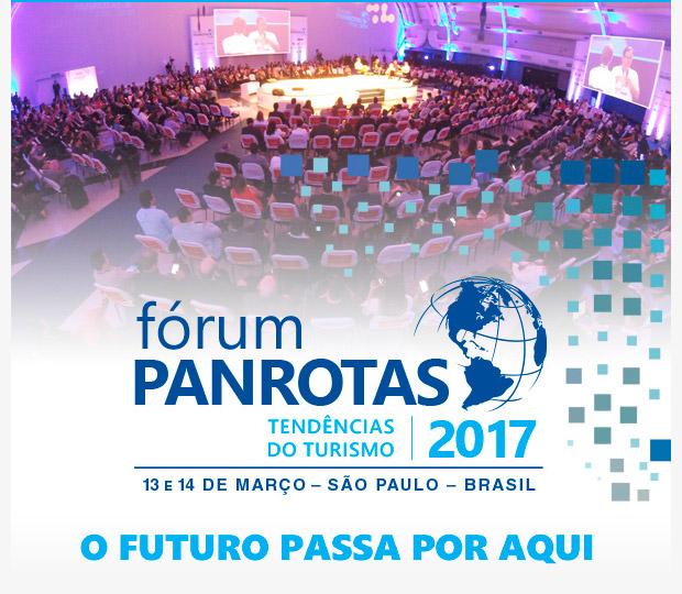 fórum PANROTAS - Tendências do Turismo 2017