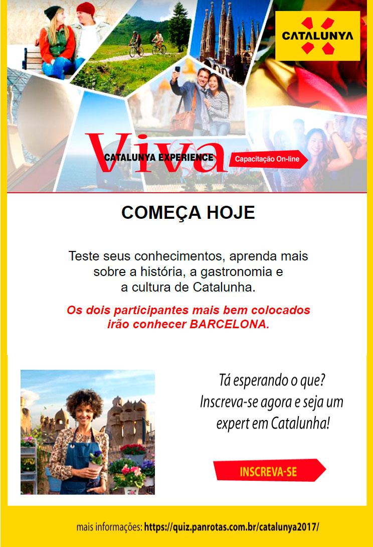 COMEÇA HOJE - QUIZ PANROTAS - CAPACITAÇÃO ONLINE  |  CONCORRA A 2 VIAGENS PARA CONHECER BARCELONA (CATALUNHA) - INSCREVA-SE